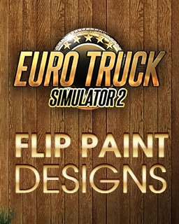 Euro Truck Simulátor 2 - Flip Paint Designs