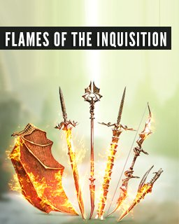 Flames of the Inquisition Weapons Arsenal krabice