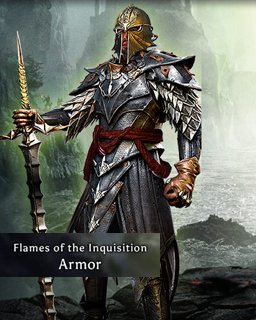 The Flames of the Inquisition Armor