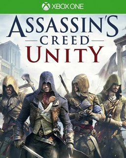 Assassins Creed Unity Xbox One krabice