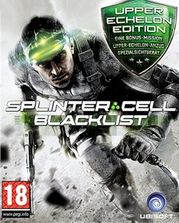 Tom Clancys Splinter Cell Blacklist Upper Echelon krabice