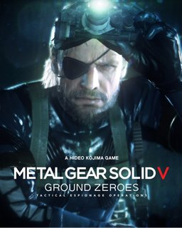 Metal Gear Solid V Ground Zeroes krabice