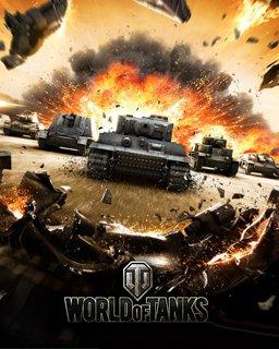 World of Tanks 1250 Gold + Jagdtiger tank + 7 Days Premium PC – digitální verze