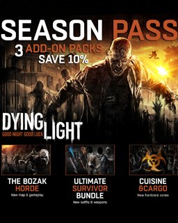 Dying Light Season Pass krabice