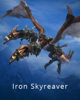 World of Warcraft Iron Skyreaver krabice