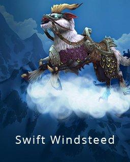 World of Warcraft Swift Windsteed krabice