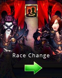 World of Warcraft Race Change krabice
