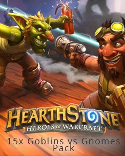 15x Hearthstone Goblins vs Gnomes Pack krabice
