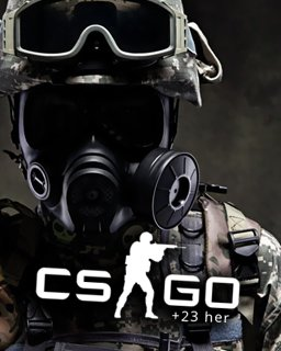 Counter Strike Global Offensive + 23 her krabice