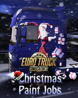 Euro Truck Simulátor 2 Christmas Paint Jobs Pack krabice