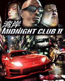 Midnight Club 2 krabice