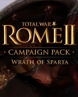 Total War ROME II Wrath of Sparta krabice