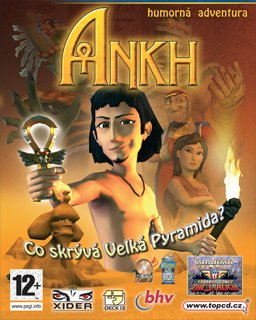 Ankh  Malý Faraon krabice