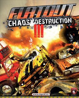 FlatOut 3 Chaos & Destruction krabice
