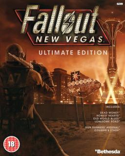 Fallout New Vegas Ultimate Edition krabice