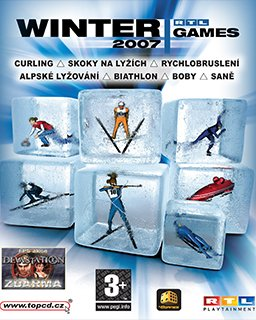 Winter Games 2007 krabice