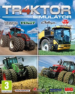 Traktor 4 Simulátor krabice