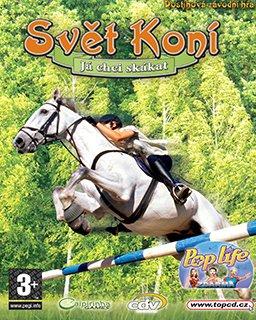 Svět Koní Já chci skákat krabice