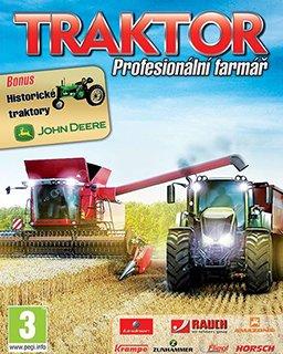 Traktor Profesionální farmář krabice