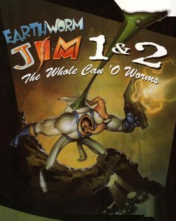 Earthworm Jim 1+2 The Whole Can 'O Worms