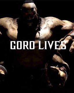 Mortal Kombat X Goro krabice