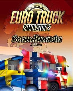 Euro Truck Simulátor 2 Scandinavia krabice