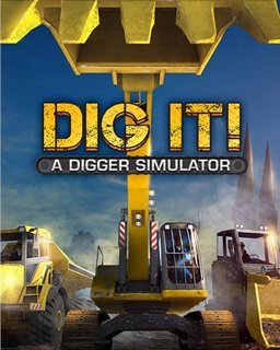 DIG IT!  A Digger Simulator krabice