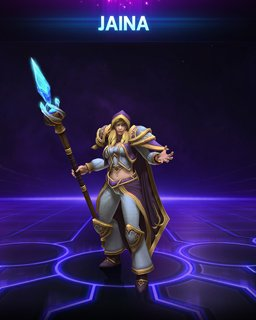 Jaina Heroes of the Storm krabice