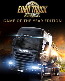 Euro Truck Simulátor 2 Game Of The Year Edition krabice
