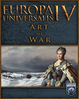 Europa Universalis IV Art of War krabice