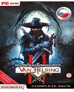 The Incredible Adventures of Van Helsing II Complete Pack krabice