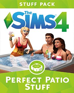 The Sims 4 Perfektní Patio krabice