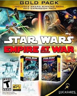STAR WARS Empire at War Gold Pack krabice