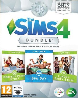 The Sims 4 Bundle Pack 1 krabice
