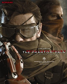 Metal Gear Solid V The Phantom Pain krabice