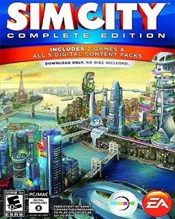 Simcity Kompletní Edice krabice