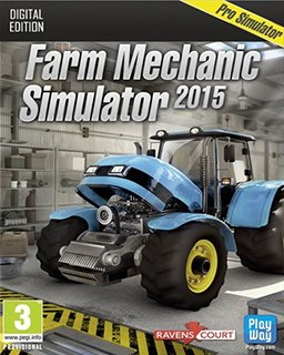 Farm Mechanic Simulator 2015 krabice