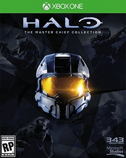 Halo The Master Chief Collection Xbox One krabice