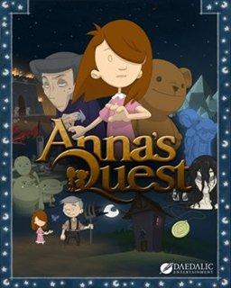 Anna's Quest krabice