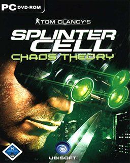 Tom Clancys Splinter Cell Chaos Theory krabice