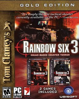 Tom Clancys Rainbow Six 3 Gold krabice
