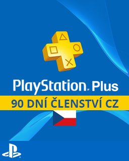 PlayStation Plus 90 dní krabice