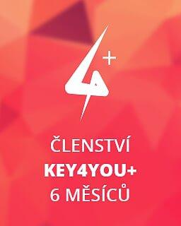 Key4You+ Členství (6 měsíců) krabice