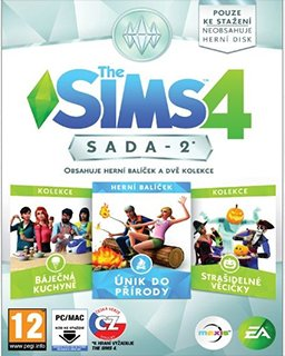 The Sims 4 Bundle Pack 2 krabice