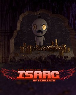 The Binding of Isaac Afterbirth krabice