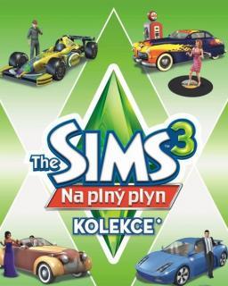 The Sims 3 Na plný plyn krabice