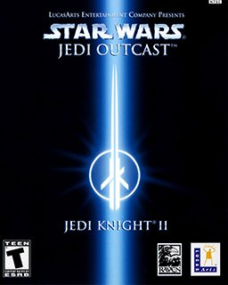 STAR WARS Jedi Knight 2 Jedi Outcast krabice