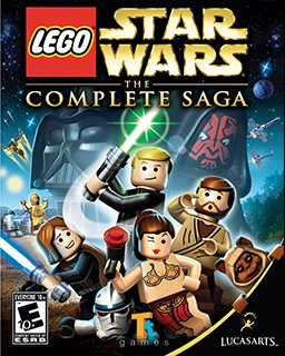 LEGO Star Wars The Complete Saga krabice
