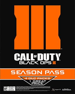 Call of Duty Black Ops III Season Pass krabice