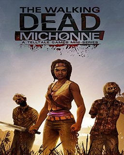 The Walking Dead Michonne krabice